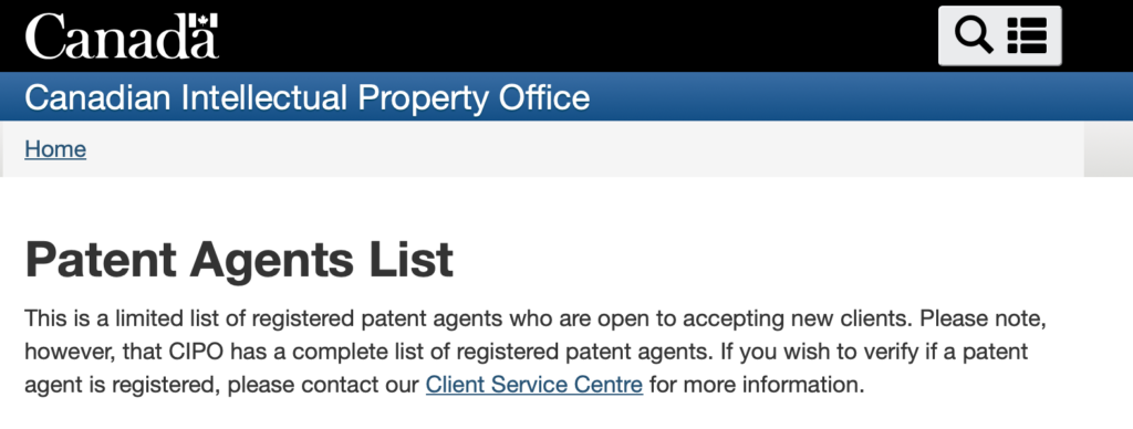 You need a patent agent from list to be a patent firm but you can still provide patent advice