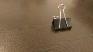 Ensure your paper clip claim includes this 3D form